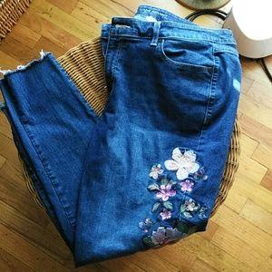 Lane Bryant Released Hem Skinny Jeans